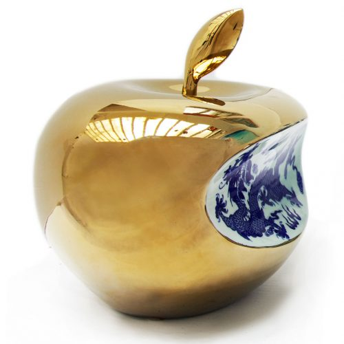 APPLE CHINA GRAND FORMAT – Gold, 2007