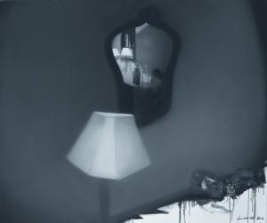 Liu Xintao, The bed In Beidaihe, 120x100cm, 2012