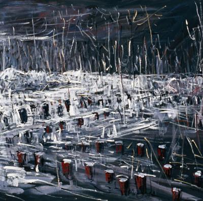Landscape 6, 300X100cm, 2008