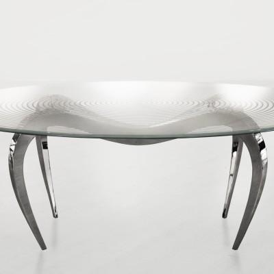 """Table """"Goutte d'eau"""" – Plateau Verre"""