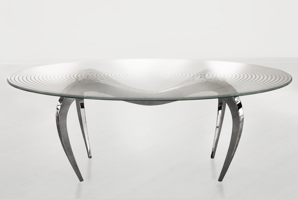 table goutte d eau glass table top galerie loft. Black Bedroom Furniture Sets. Home Design Ideas