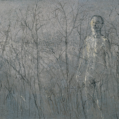 In the landscape 7, 2006, Oil on Canvas, 200x300 cm