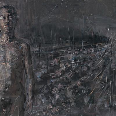 Journey2, 2007, Acrylic on Canvas,120x200cm