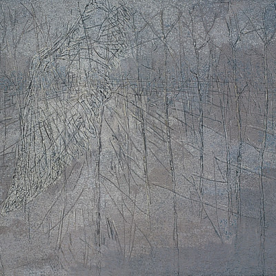 Landscape and Wings, 2006, Oil on Canvas, 200x300cm