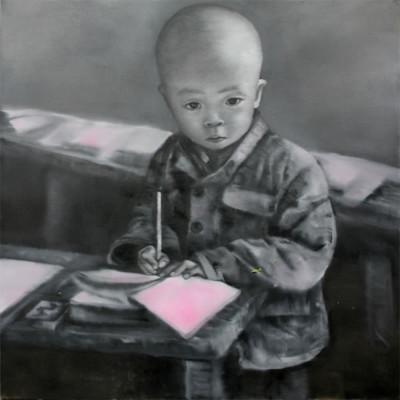 autoportrait-sur-toile-2007-150x150cm