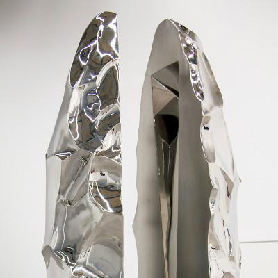 YAZID OULAB - Monolithe H. 205,5 cm