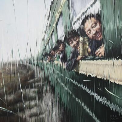VOYAGEURS EN TRAIN