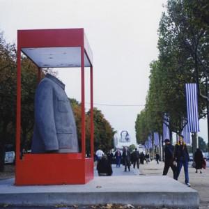 SUI JIANUO, Champ de la sculpture en 1999 sur les champs-élysées
