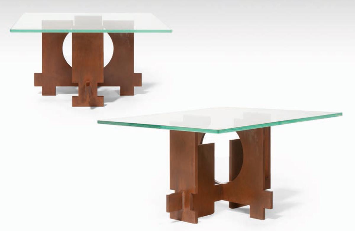 Table basse forme galet maison design - Table basse galet blanc ...