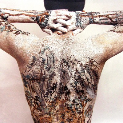 Chinese Shan Shui Tatto Series : Back