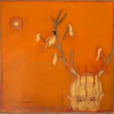 KALFAS - 2011- Retrouver les bons souvenirs-30x30-cm-laq