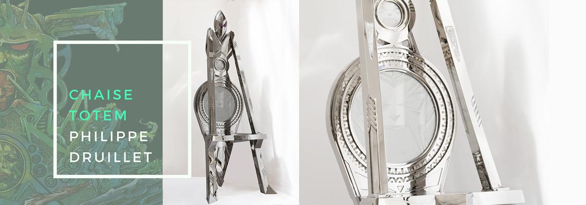 Chaise Totem - Druillet