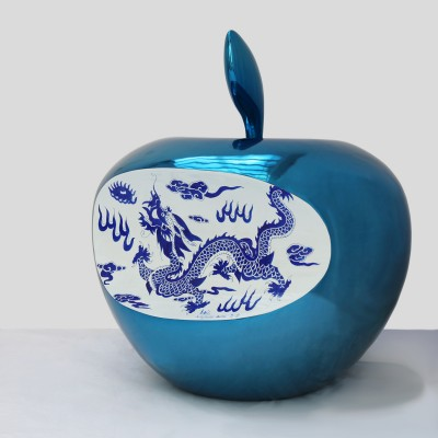 APPLE CHINA D.80 CM BLUE