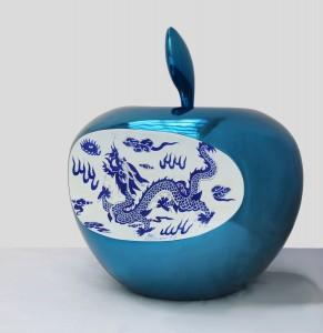 Apple's china - blue