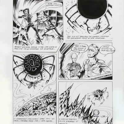 Planches de Lone Sloane – Le mystère des abîmes, 1966