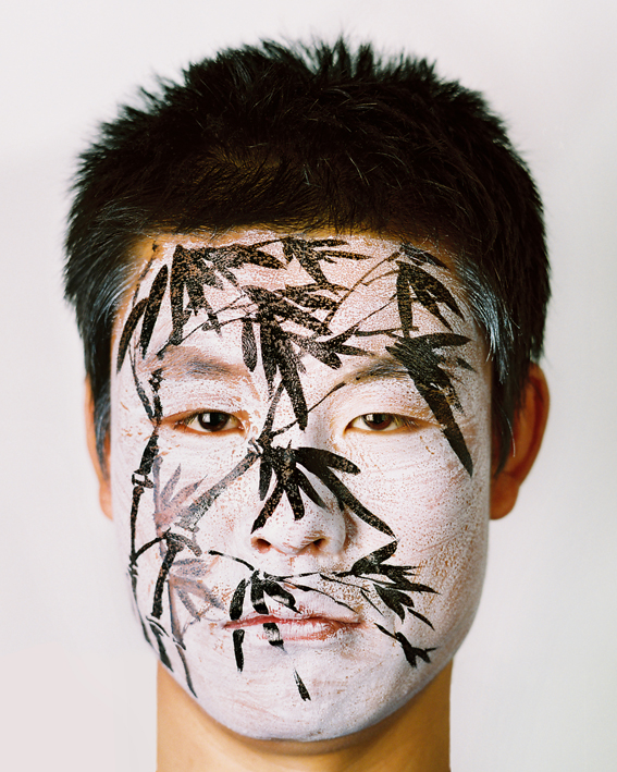 Face painting - bamboo