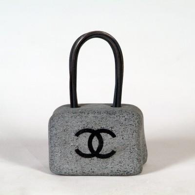 Grey Chain Chanel