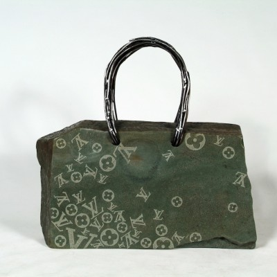 Green Duffel Vuitton