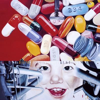 Dreamachine_1996-huile sur toile-120x120cm