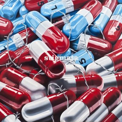 PsychoKiller_2012-huile sur toile-120x120cm