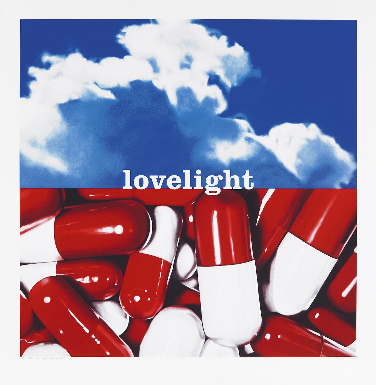 Turn On Your Lovelight_2007-sérigraphie sur papier-92x90cm