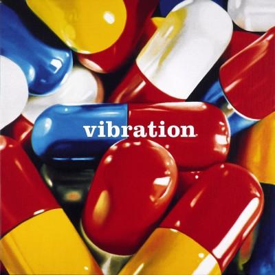 Vibration_2009-sérigraphie sur toile-80x80cm