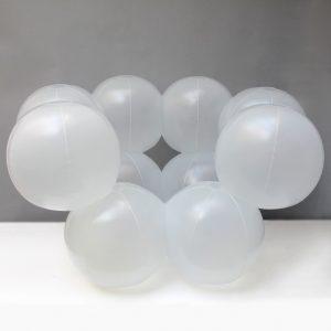 Fauteuil Moléculaire Transparent Bernard QUENTIN