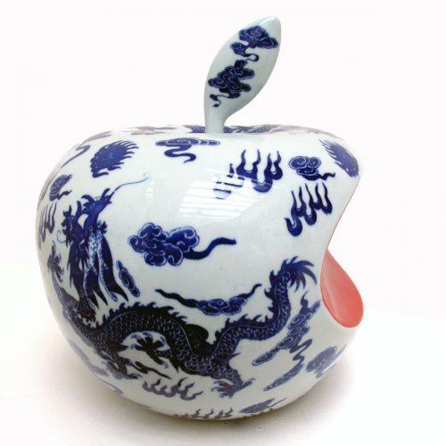 APPLE CHINA GRAND FORMAT – Blanc, 2007